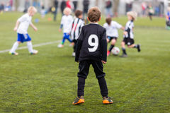 Soccer training for kids Stock Photography