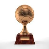 Soccer trophy Stock Photos