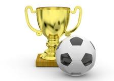 Soccer Trophy - 3D Stock Photos