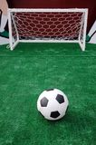 Soccer turf Royalty Free Stock Photography