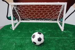 Soccer turf Stock Image
