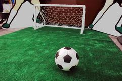 Soccer turf Royalty Free Stock Photo