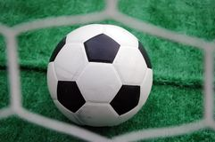 Soccer turf Stock Photos