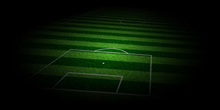 Soccer Turf background Stock Photo