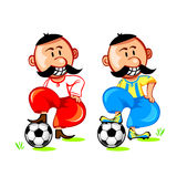 Soccer ukrainian player Stock Images