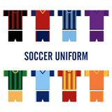 Soccer Uniform Logo Template Stock Images