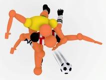 Soccer_v4 Stock Images