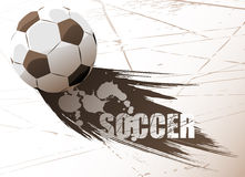 Soccer vector Royalty Free Stock Images