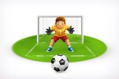 Soccer vector icon Royalty Free Stock Photo