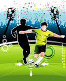 Soccer vector illustration Royalty Free Stock Image