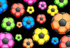 Soccer Wallpaper Stock Images