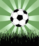 Soccer wallpaper Royalty Free Stock Photos