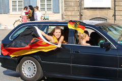 Soccer World Cup: German Fans  Stock Photos