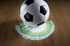 Soccer and wealth Royalty Free Stock Photography