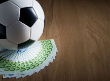 Soccer and wealth Stock Photography