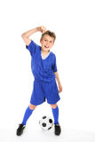Soccer win Royalty Free Stock Photography