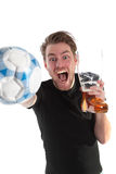 Soccer winner!! Royalty Free Stock Photos