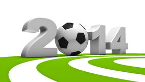 Soccer WM 2014 Stock Images