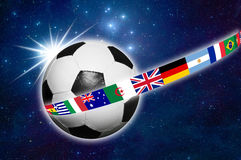 Soccer world  Royalty Free Stock Photo