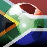 Soccer world championship. Digital visualization: soccer world championship vector illustration
