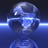 Soccer world championship. Digital visualization: soccer world championship royalty free illustration
