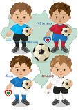 Soccer World Cup D Stock Images