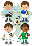 Soccer World Cup F Stock Images