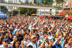 Soccer World Cup 2014 Final Argentina vs Alemanha Stock Photography