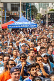 Soccer World Cup 2014 Final Argentina vs Alemanha Royalty Free Stock Photos