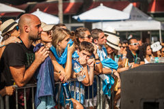 Soccer World Cup 2014 Final Argentina vs Alemanha Royalty Free Stock Photography