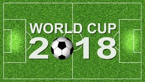 Soccer World Cup 2018 FullHD stock video footage