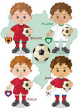 Soccer World Cup H Stock Image