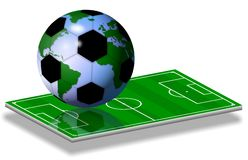 Soccer world game Stock Photo