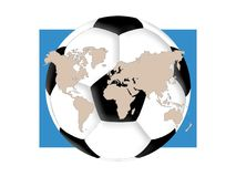 Soccer World Royalty Free Stock Photography