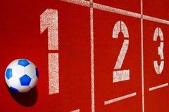 soccerball ταρτάν Στοκ φωτογραφίες με δικαίωμα ελεύθερης χρήσης