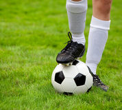 soccerball Στοκ Φωτογραφίες