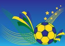 Soccerball royalty ilustracja