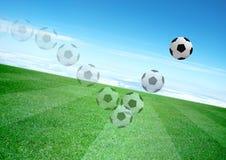 Soccerball Foto de Stock
