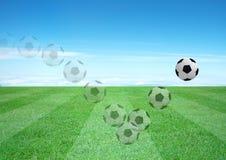 Soccerball Images libres de droits