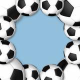 Soccerball. Frame Stock Images