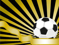 SoccerBall background Stock Images