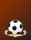 SoccerBall background Royalty Free Stock Photography