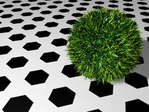 Soccerball inverso Imagen de archivo