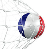 Soccerball in net Royalty Free Stock Photography