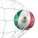 Soccerball in net Stock Photos