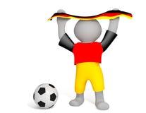 Soccerfan Fotografia Stock
