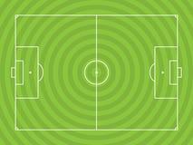 Soccerfield illustration vektor illustrationer