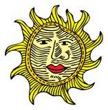 słońce Obrazy Royalty Free