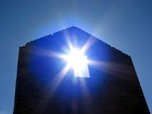 słońce ściana Obraz Royalty Free
