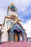 Sochi, Ρωσία - 14 Μαΐου 2016: 1$ος καθεδρικός ναός του Βλαντιμίρ πριγκήπων μέσα Στοκ Εικόνες